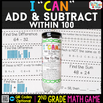 2nd Grade Addition and Subtraction within 100   2nd Grade Math Centers
