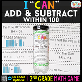 2nd Grade Addition and Subtraction within 100 Game