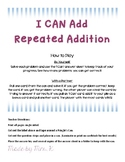 I CAN Add - repeated addition