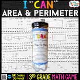 3rd Grade Area and Perimeter Game | 3rd Grade Math Centers