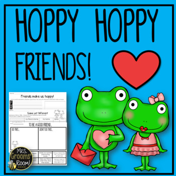 FRIENDSHIP: HOPPY HOPPY FRIENDS