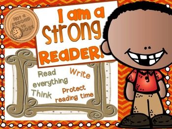I CAN BE A STRONG READER!