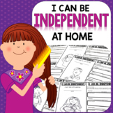 I CAN BE INDEPENDENT {Life Skills Homework Tasks}