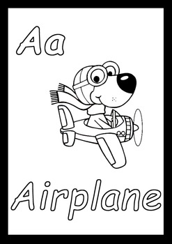 I CAN COLOR MY ABC, ALPHABET WORKSHEET