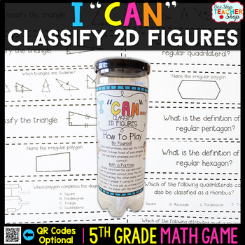 5th Grade Classify 2D Figures Game - 5th Grade Math Game f
