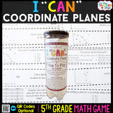 5th Grade Graphing Coordinate Planes Game | 5th Grade Math