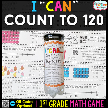 1st Grade Counting to 120 Game - 1st Grade Math Game for M