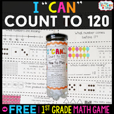 1st Grade Counting to 120 Game | 1st Grade Math Centers