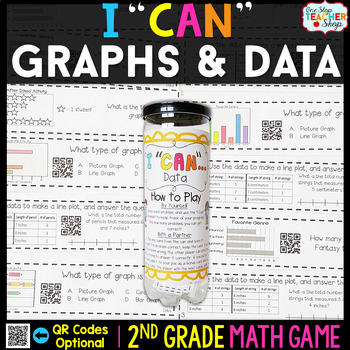 2nd Grade Graphs and Data Game - 2nd Grade Math Game for M