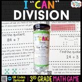 3rd Grade Division Game 3rd Grade Math Centers {I CAN Math Games}