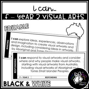 I CAN | F - YEAR 2 VISUAL ARTS (BLACK & WHITE)
