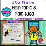 I CAN FIND THE MAIN TOPIC & MAIN IDEA: Comprehension: Digi