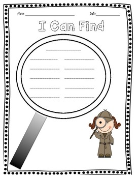 I CAN FIND... word tracker template