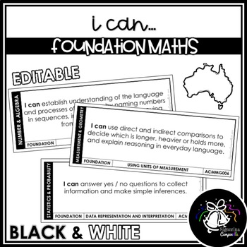 I CAN | FOUNDATION MATHEMATICS (BLACK & WHITE)