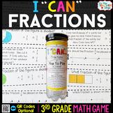 3rd Grade Fractions Game 3rd Grade Math Centers
