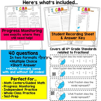 4th Grade Fractions Game   Equivalent Fractions, Ordering & Comparing Fractions