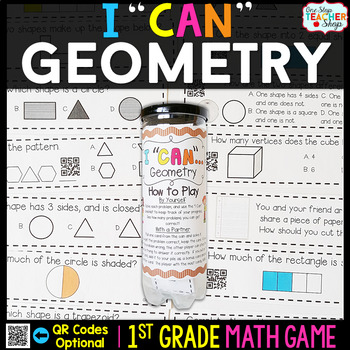 Geometry First Grade Math Game