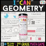 2nd Grade Math Game | Geometry | Shape Attributes & Partit