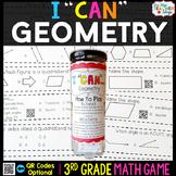 3rd Grade Math Game   Geometry