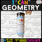 4th Grade Geometry Game 4th Grade Math Centers {I CAN Math Games}