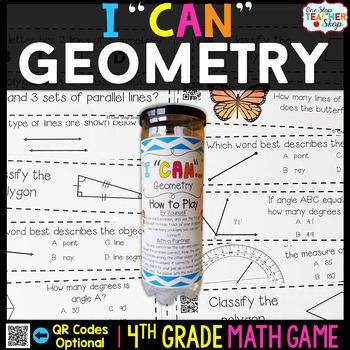 4th Grade Geometry Game   4th Grade Math Centers