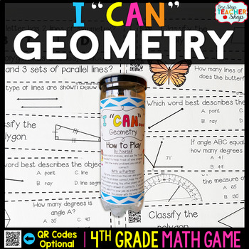 Geometry Fourth Grade Math Game