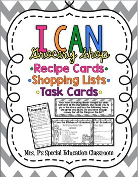 I CAN: Grocery Shop