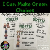 I CAN MAKE GREEN CHOICES-UNIT FOR SPECIAL EDUCATION