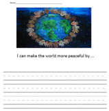 I CAN MAKE THE WORLD MORE PEACEFUL