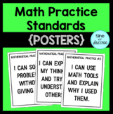 I CAN...Mathematical Practice Standards Posters