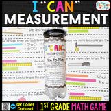 1st Grade Math Game | Measurement | Measuring Length