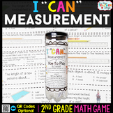 2nd Grade Measurement Game - 2nd Grade Math Game for Math Centers
