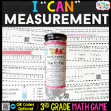 3rd Grade Measurement Game 3rd Grade Math Centers {I CAN M
