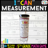 5th Grade Measurement Game 5th Grade Math Centers {I CAN M
