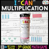 3rd Grade Multiplication Game 3rd Grade Math Centers {I CA