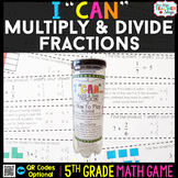 5th Grade Multiplying and Dividing Fractions Game | 5th Gr