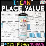 1st Grade Math Game | Place Value | Ones & Tens Place Value