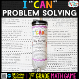 1st Grade Problem Solving Game | 1st Grade Math Centers