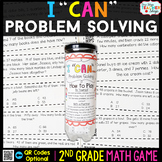 2nd Grade Problem Solving Game | One and Two Step Word Problems