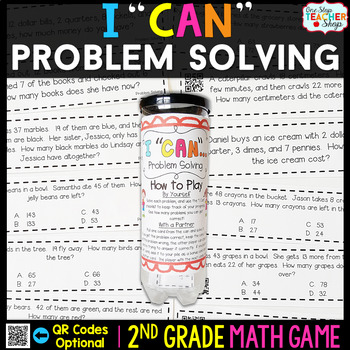 2nd Grade Problem Solving Game - 2nd Grade Math Game for M