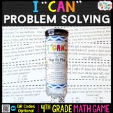 4th Grade Math Game   Problem Solving