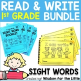 I CAN READ AND WRITE BUNDLE - 1ST GRADE