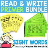 I CAN READ AND WRITE BUNDLE - PRIMER