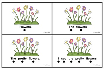I CAN READ! About Spring {A Concepts of Print Activity}