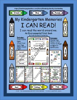 I CAN READ! An Environmental Print Book