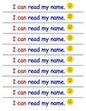 I CAN READ MY NAME award strip