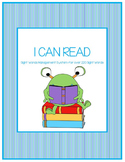 I CAN READ Sight Word Management System