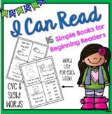 I CAN READ - Sight Words & CVC Emergent Reader Book Set