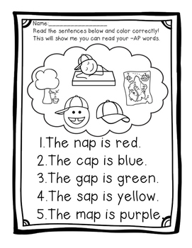 I CAN... Read Short Vowel Words!