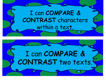 I CAN STATEMENTS FOR COMPREHENSION SKILLS